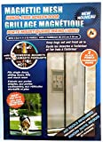 Magnetic Mesh Hands Free Screen Door with 18 Powerfull Magnets
