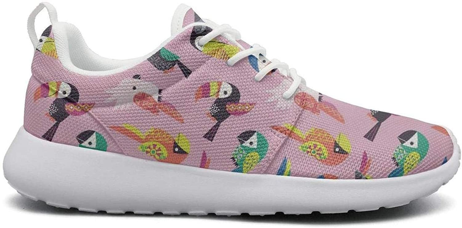 Ipdterty Wear-Resistant Climbing Sneaker Coloful Cute Toco Toucan Womens Ladies Unique Athletic Running shoes