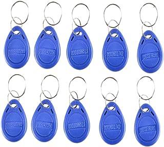 Baosity 100 PCS 125KHz RFID Key Fob Proximity ID Card Token Tag Keyfob Card for Door Entry Access Control System for Secur...