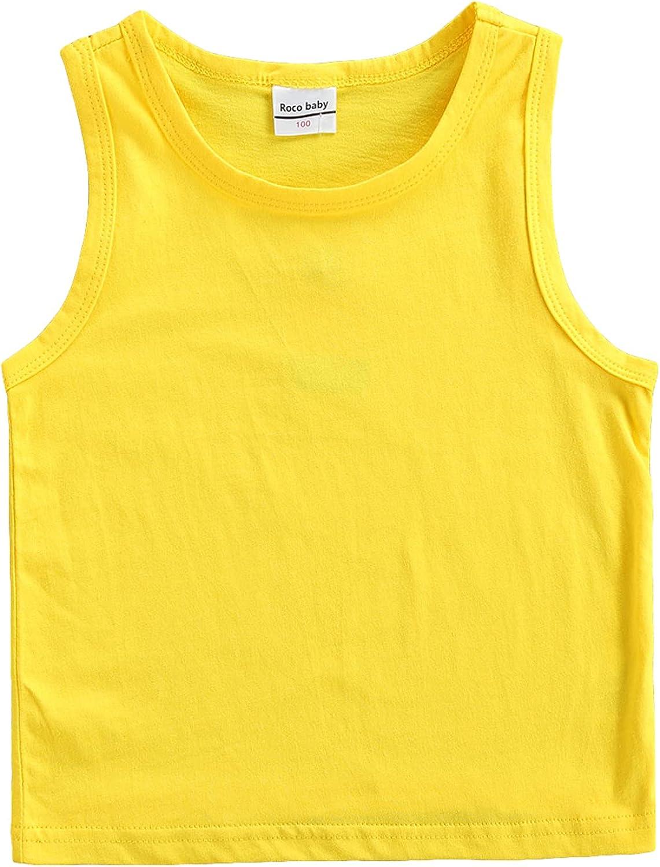 shipfree Cheap bargain RESUNGOO Unisex Infant Toddler Little Girls Sleeveless Boys Tank