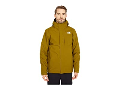 The North Face Carto Triclimate Jacket (Fir Green/TNF Black) Men