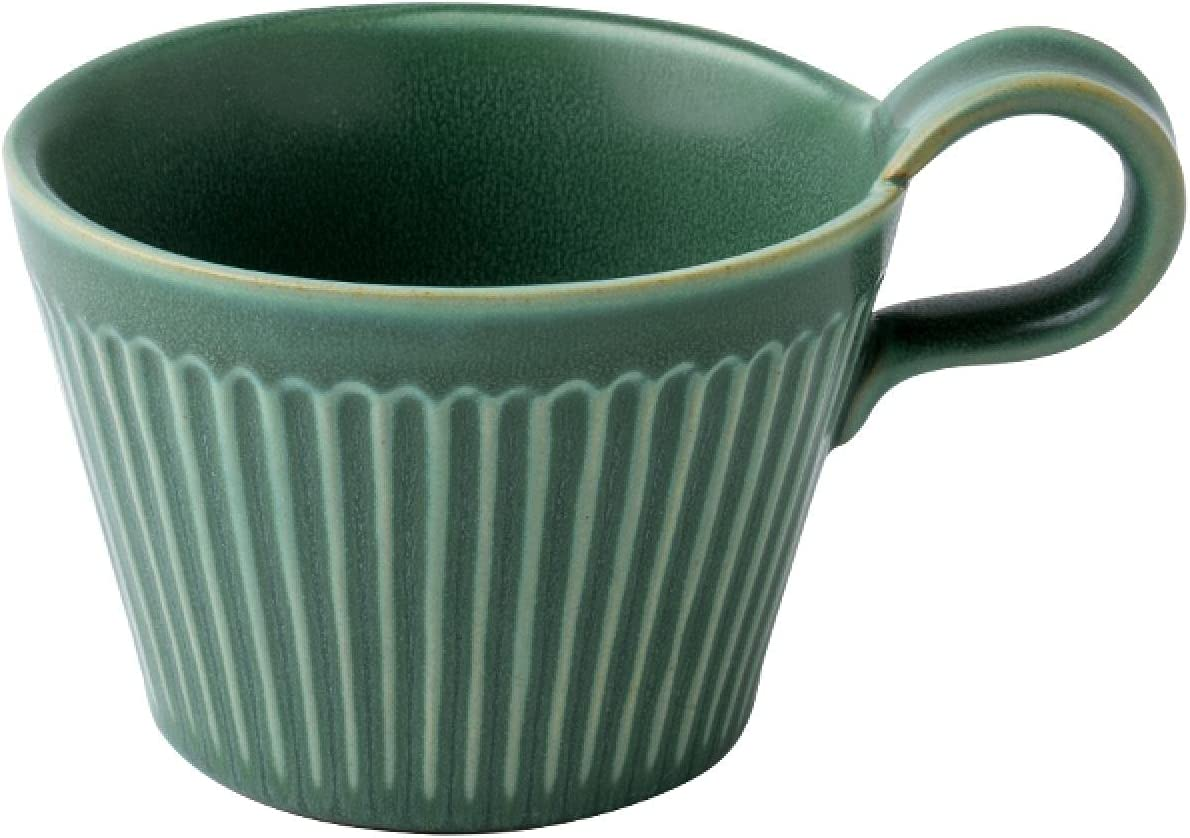 300ml Creative Retro Green Oakland Mall Hanging Simple Household Selling and selling Ears Ceramic