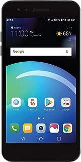 "LG Phoenix 4 X210, 5"" Full HD Display, (16GB, 2GB RAM), Dual Camera, 2500 mAh Battery, Android 7.1 Nougat, 4G LTE, GSM Unlocked Smartphone, Titan Black"