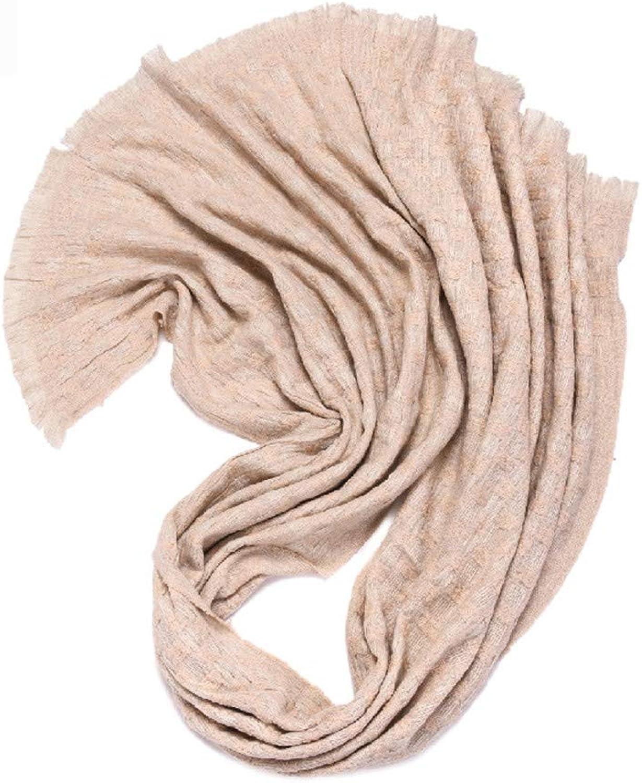 AFBLR shawl cloak Woven craft scarf retro fashion wool mat shawl, rice noodles