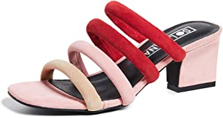 Sol Sana Women's Holt Tubular Block Heel Mules