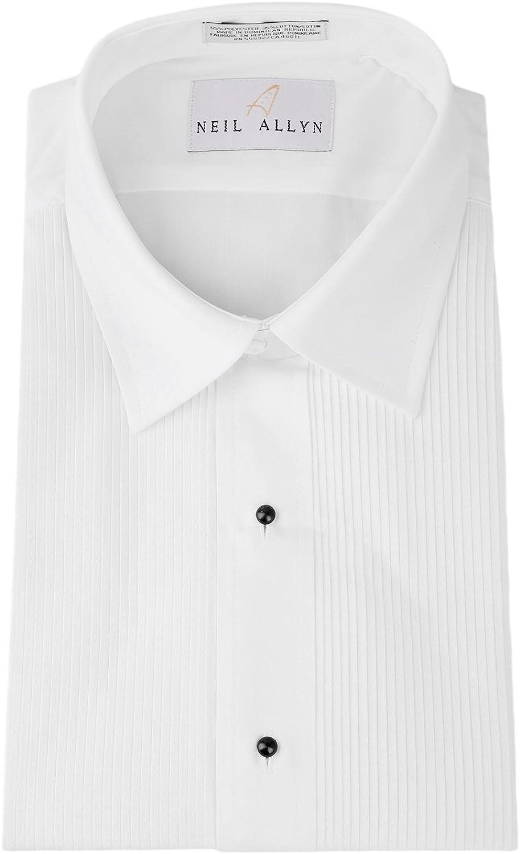 New life Tuxedo Shirt - Laydown Collar 8 1 New Shipping Free 15 Inch Pleat
