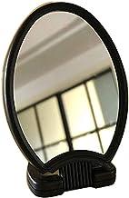 WECDS make-up spiegel mannen make-up spiegel, 5X vergrootglas ijdelheid spiegel, opvouwbare desktop spiegel, ovale plastic...