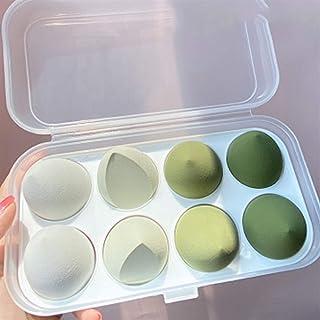 YSJJUSZ Jajko do makijażu 4 szt. nowy zestaw piękności jajek tykwa kropla wody puff makijaż jajko poduszka kosmetyki gąbka...