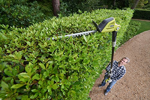 Ryobi ONE+ 18V OPT1845 Cordless Pole Hedge Trimmer, 45cm Blade (Body Only)