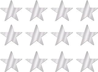 Beistle Blue Metallic Star Cutouts