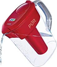 PUR (PPT711R) 7-Cup Ultimate Water Filtration Pitcher, Red
