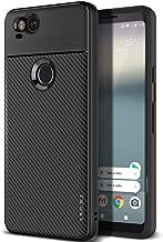 Google Pixel 2 Obliq Flex Pro Case Cover - Black Carbon