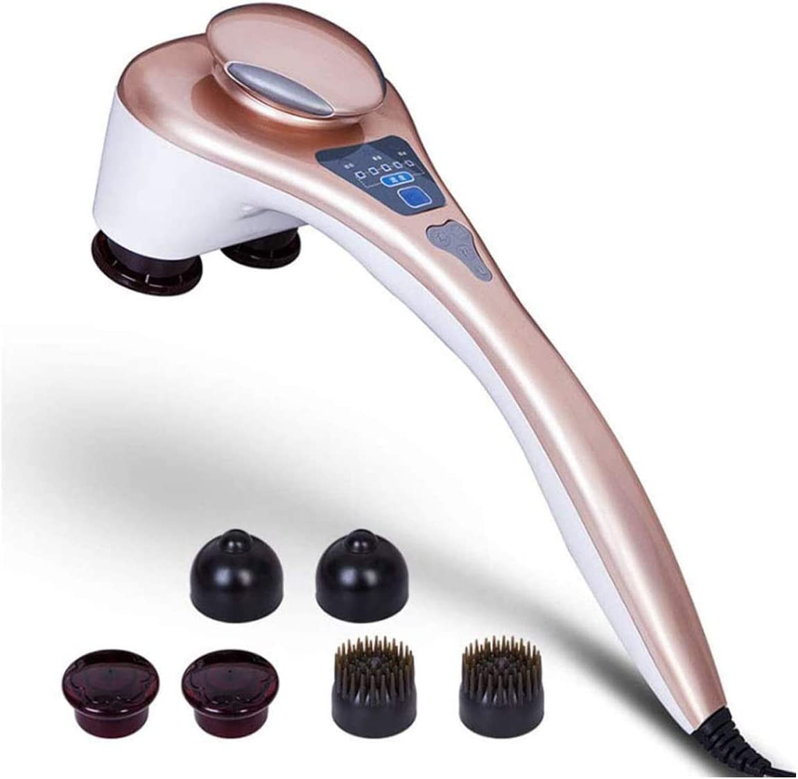 quality assurance ZLHW Double Head Handheld Electric De Heating Massager Back Attention brand with