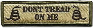 Don't Tread On Me Patch Embroidered Military Tactical Morale Patches