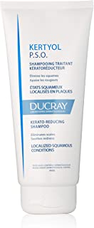 Ducray Kertyol P.S.O. Shampoo, Scalp Prone to Psoriasis, Micronized Sulfur, Salicylic Acid, Soothes Red, Irritated Scalp, 6.7 oz.
