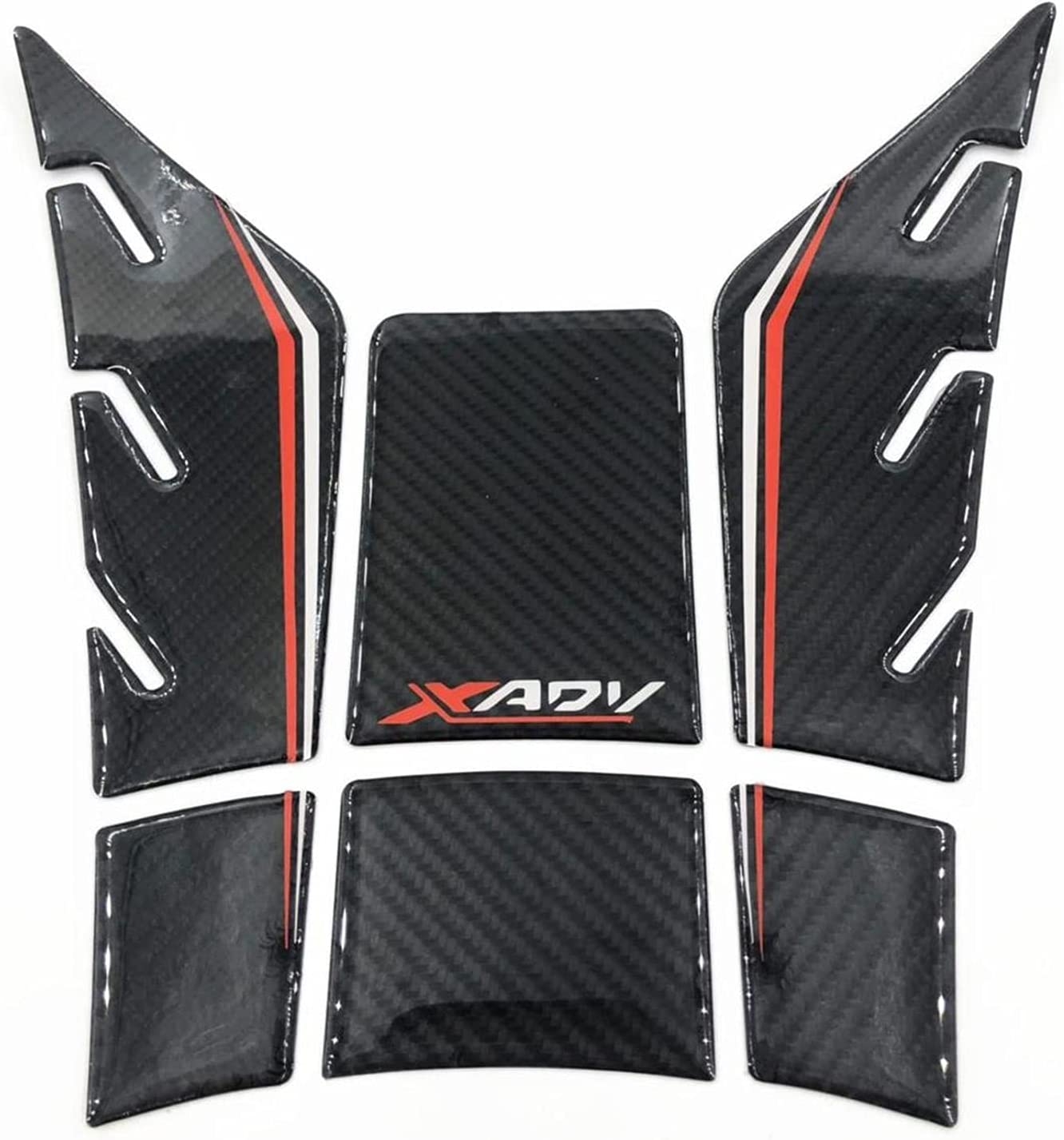 Motorcycle Tank Sticker XADV750 3D Ranking TOP17 Gel T Carbon Fiber National products