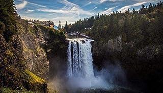 N/G 1000 Pezzi Adulti e Bambini-Waterfall Cliff Spray Water-Gift Antistress Intellettuale Educativo Creativo Casa da Gioco...