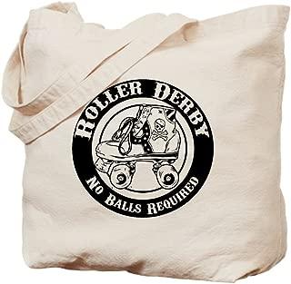 CafePress - No Balls Required - Natural Canvas Tote Bag, Cloth Shopping Bag