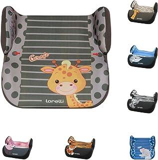 Silla de auto Lorelli Topo Comfort Group 2/3 (15-36 kg) de 4 a 12 años adecuado, color:beige