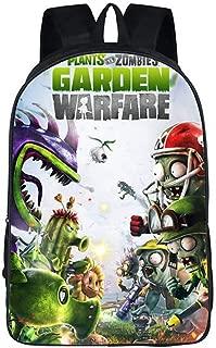Unisex Pupils Cartoon Students Schoolbag Backpack (Color B)