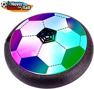 Verkstar Kids Toys Air Power Soccer Ball, Kids Disk Hover Ball Equipped , Sports Toys Foam Bumpers for Indoor Outdoor Activities