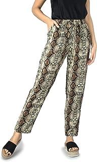 d87b6aecb54 Amazon.es: Marrón - Pantalones / Mujer: Ropa