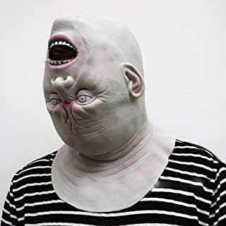 Halloween Adult Mask Zombie Mask Latex Bloody Scary Alien Devil Full Face Mask Costume Party Cosplay Prop happyL