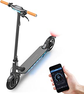 Sponsored Ad - Electric Scooter for Adults, 350w Motor & Max Speed 15.5 Mph, 10'' Shock-Absorbing Non-Inflatable Solid Tir...