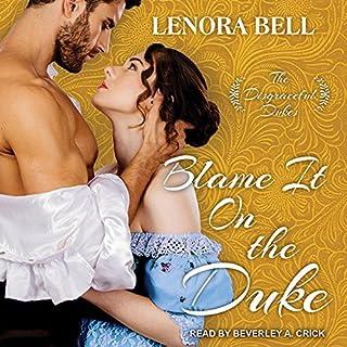 Blame It on the Duke audiobook cover art
