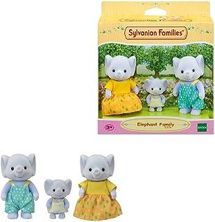 Sylvanian Families 5376 Elephant Family, Multi-Coloured