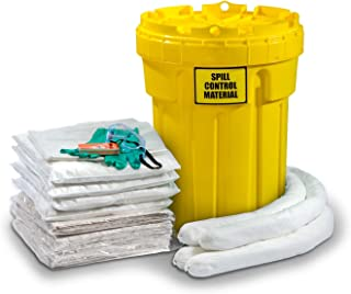 ESP SK-O30 56 Piece 30 Gallons Oil Only Absorbent Ecofriendly Spill Kit, 24 Gallons Absorbency, White