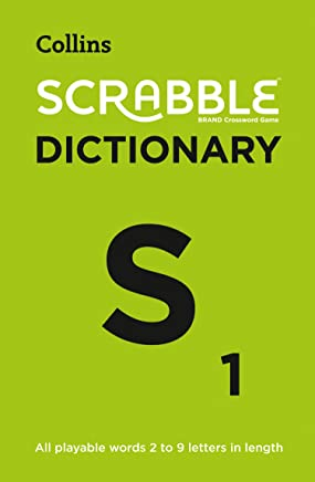 Collins Scrabble Dictionary: The Official Scrabble Solver - All PlayableWords 2 - 9 Letters in Length [Fifth Edition]