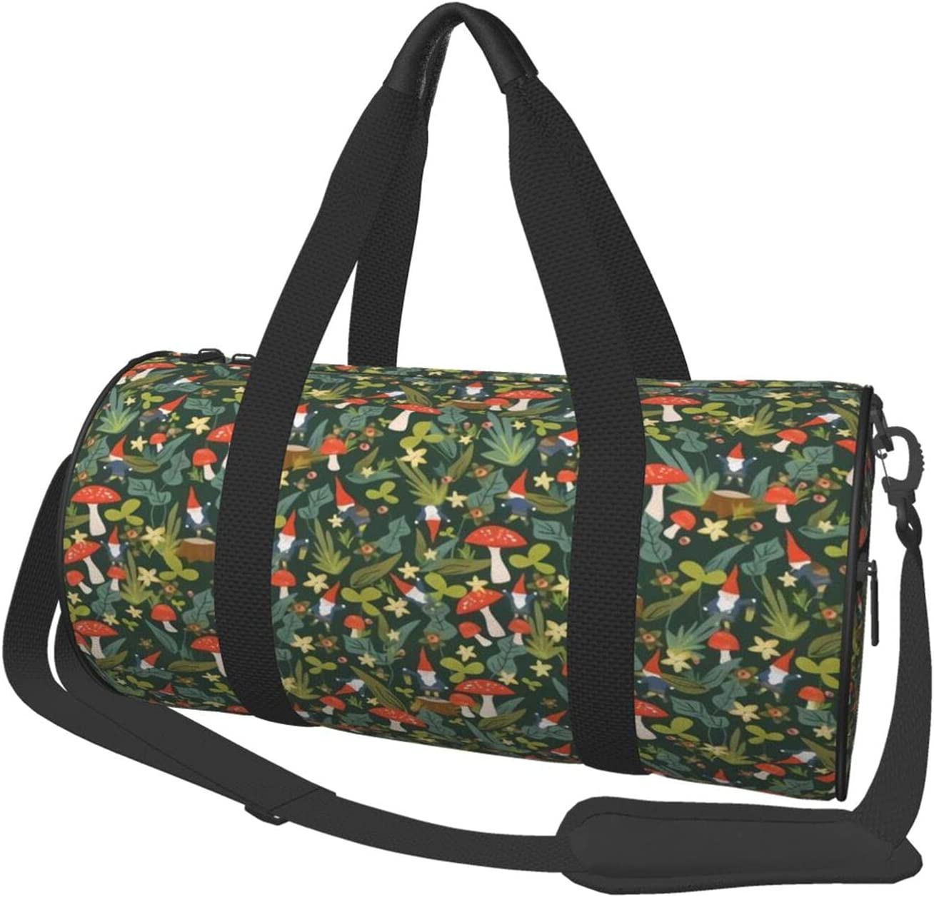 Woodland OFFer Gnomes Duffle Bag Gym Sports Very popular fitness Men Women Tote