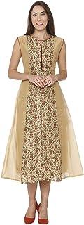 Aalia Women's silk a-line Kurta