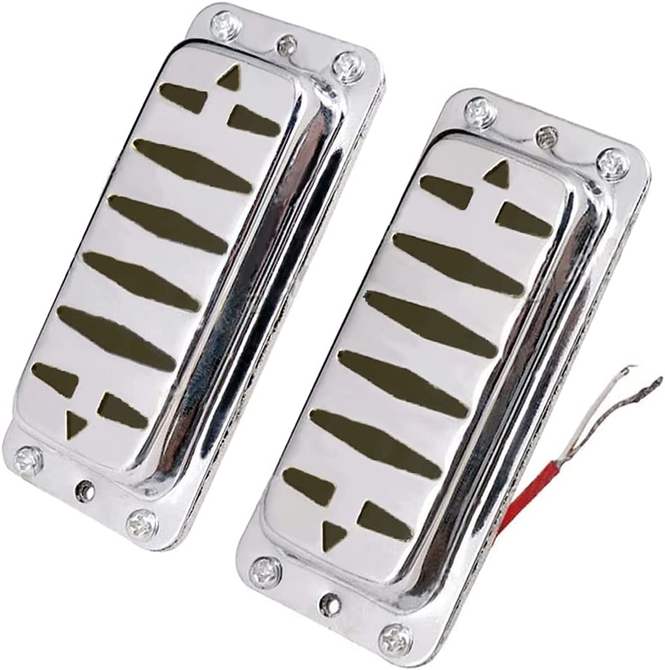 Set Ranking TOP13 Sealed Electric Guitar Humbucker with Cover Pickups Max 54% OFF 6 Brass