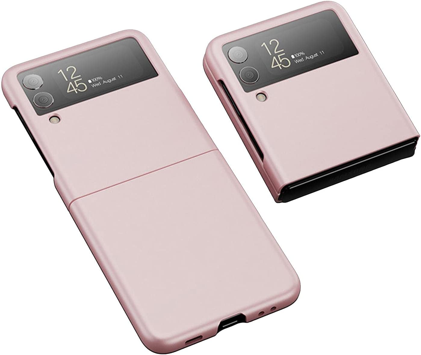 Designed for Samsung Galaxy Z Flip 3 5G Case, Anti-Scratch Anti-Yellow TPU Super Soft Protective Phone Case Compatible with Samsung Galaxy Z Flip3 5G
