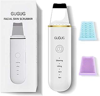 Skin Scrubber Skin Spatula, mee-eterverwijderaar poriënreiniger met 4 modi, gezichtsscrubber, spatel, comedones extractor ...