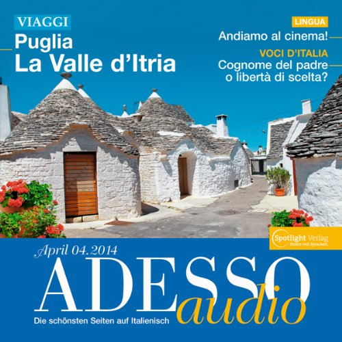 ADESSO Audio - Andiamo al cinema. 4/2014 Titelbild