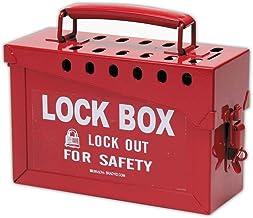 Brady - 65699 Portable Group Lock Box, Metal