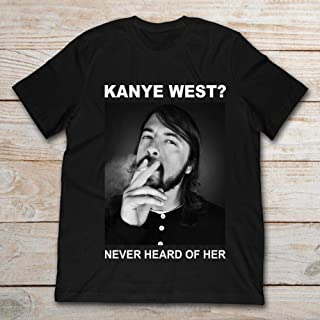 Dave Grohl Kanye West Never Heard Of Her.