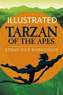 Tarzan of the Apes Illustrated (English Edition)