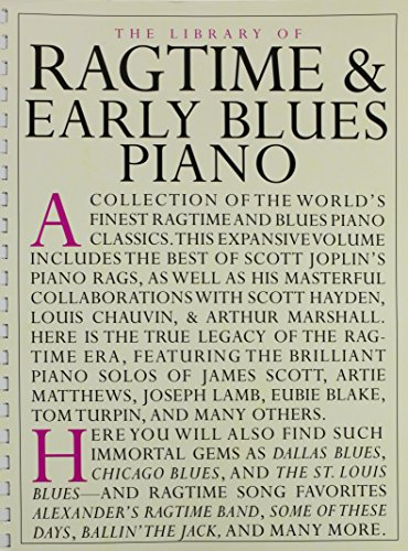 LIB OF RAGTIME & EARLY BLUES P
