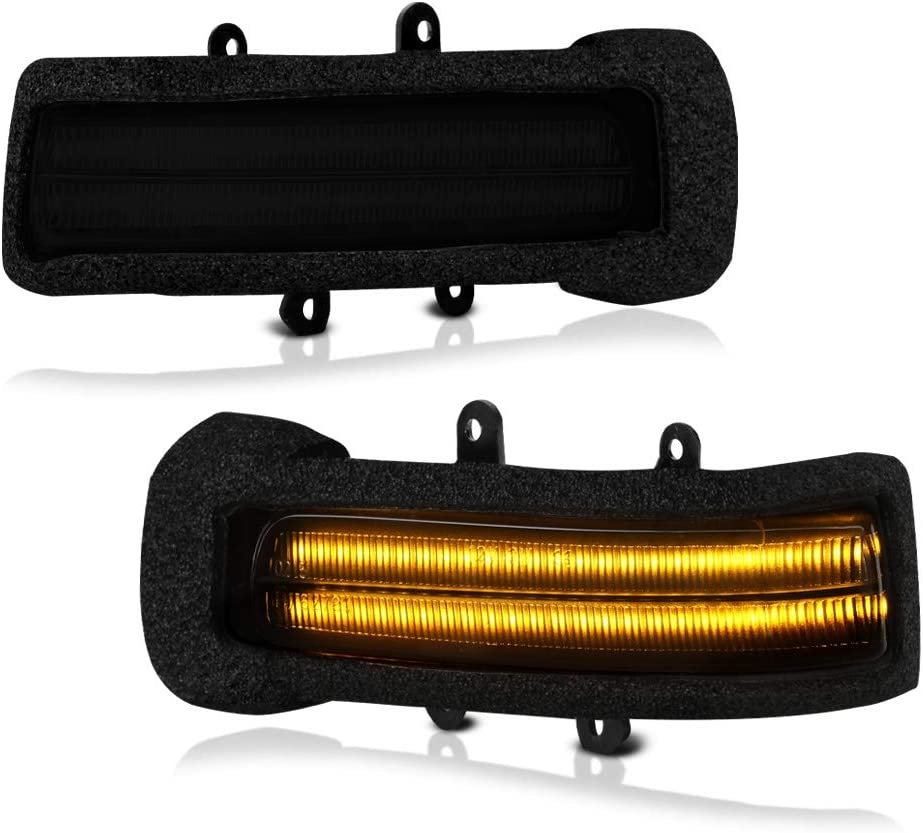 VIPMOTOZ LED In a popularity Strip Side Mirror Indicator Lamp Luxury goods Turn Signal Light