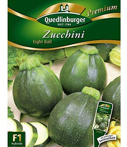 Zucchini \'Eight Ball\' F1, 1 Tüte Samen