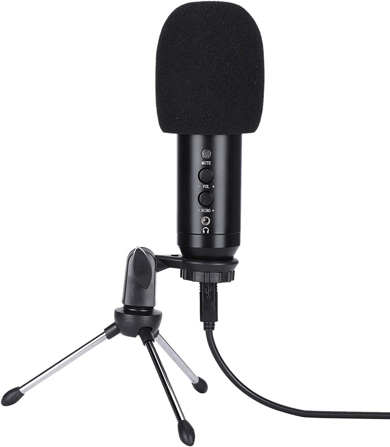 SALUTUY USB Microphone Plug and Alternative dealer BM-500 Condenser Play Cardioid Max 50% OFF