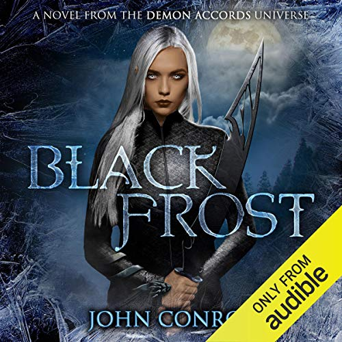 Black Frost audiobook cover art