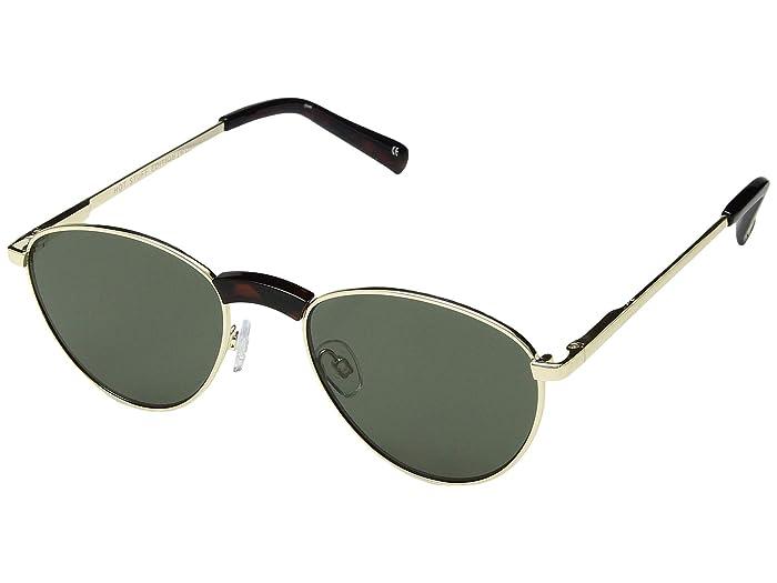 Le Specs Hot Stuff Edition (Bright Gold) Fashion Sunglasses