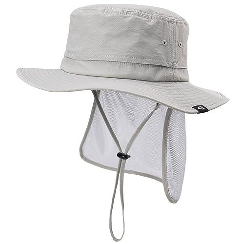 Siggi UPF50 Walking Hat -Bush Hat - Fishing Hat-Wide Brim Hat -Trekking 4b6a6352931
