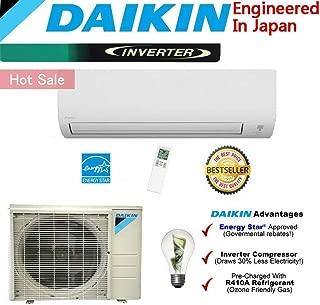 Daikin 24,000 BTU Ductless Mini Split Air Conditioner 2015 / High Efficiency/High Energy Saving/High Seer Inverter Air Conditioner Heating, Cooling, Dehumidification, Ventilation 2 TON