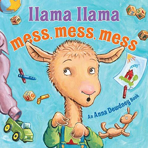 Llama Llama Mess Mess Mess audiobook cover art